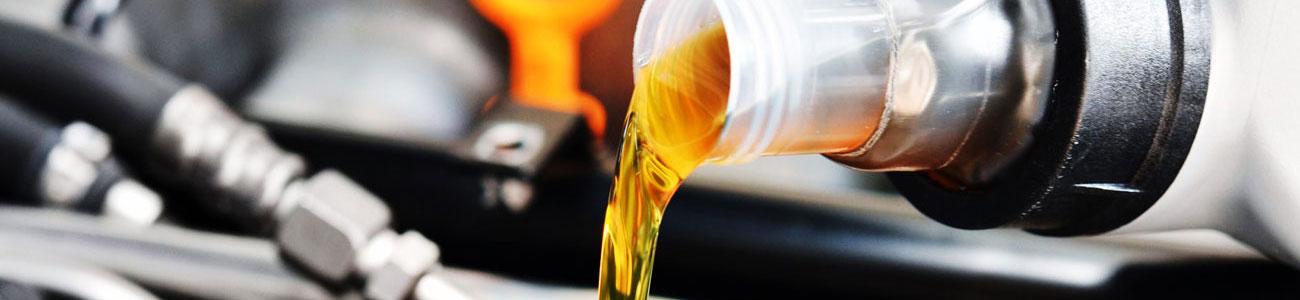 Olie tjek og opfyldning