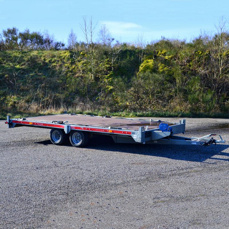 Auto trailer fra vojens Trailer udlejning
