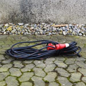 forlænger ledning 20 meter - lej den hos vojens trailer udlejning