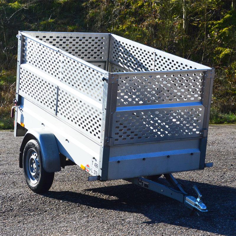 Have trailer - 500 kg til lettere havearbejde - lej den hos Vojens trailer udlejning