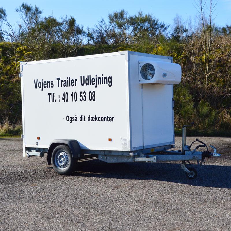 Køle trailer fra Vojens trailer udlejning - Lej den her