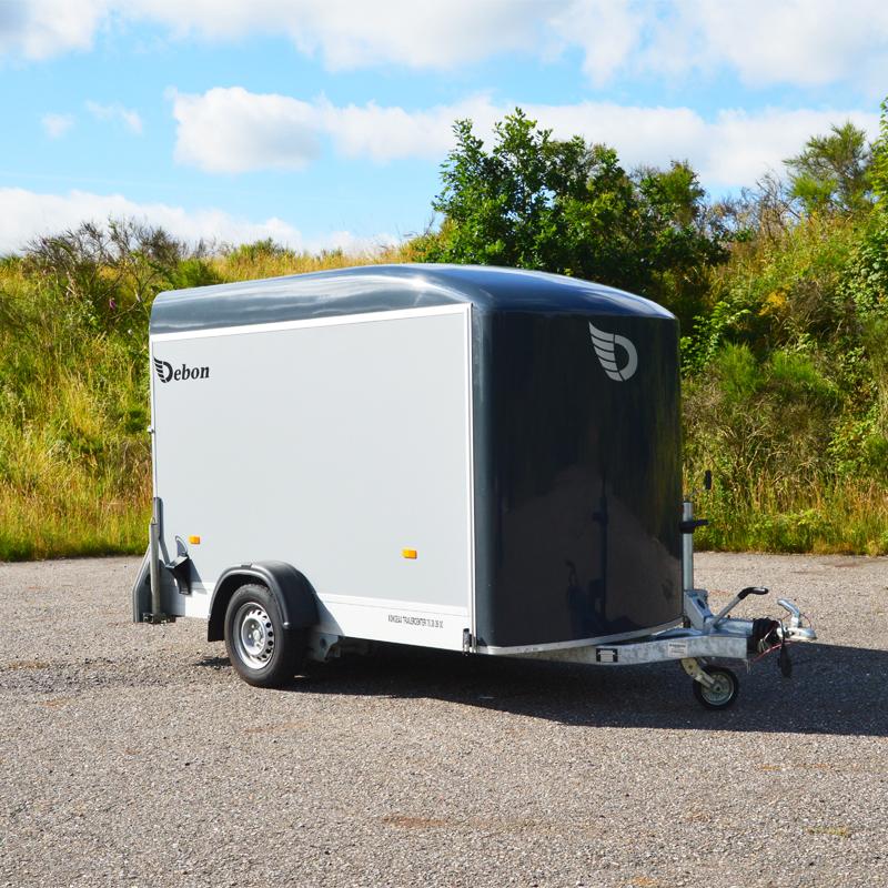 cheval liberti flytte trailer fra Vojens Trailerudlejning - lej den her